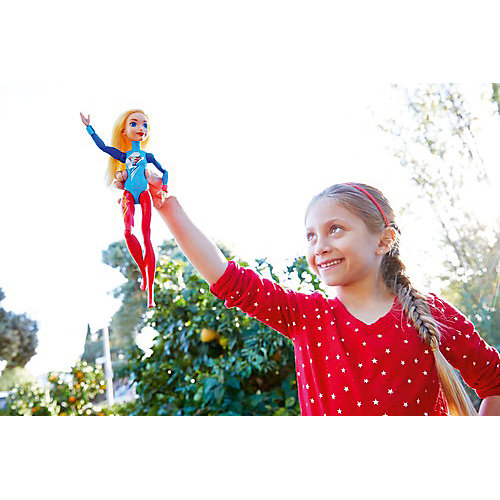 """Кукла DC Super Hero Girls """"Куклы-гимнастки"""" Супергёрл, 30 см от Mattel"""