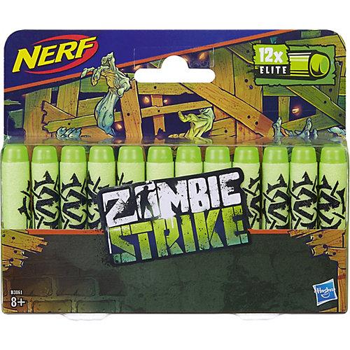 Игрушка Стрелы НёрфЗомби 12 Штук, Nerf от Hasbro