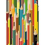 """Тетрадь со сменными блоками Канц-Эксмо """"Цветные карандаши"""" А5, 100 листов"""