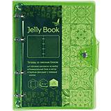 """Тетрадь со сменными блоками Канц-Эксмо """"Jelly Book"""" А5, 120 листов, неоново-салатовый"""