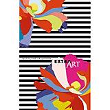 """Ежедневник Канц-Эксмо """"Фантастические цветы"""" А5-, 128 листов, недатированный"""