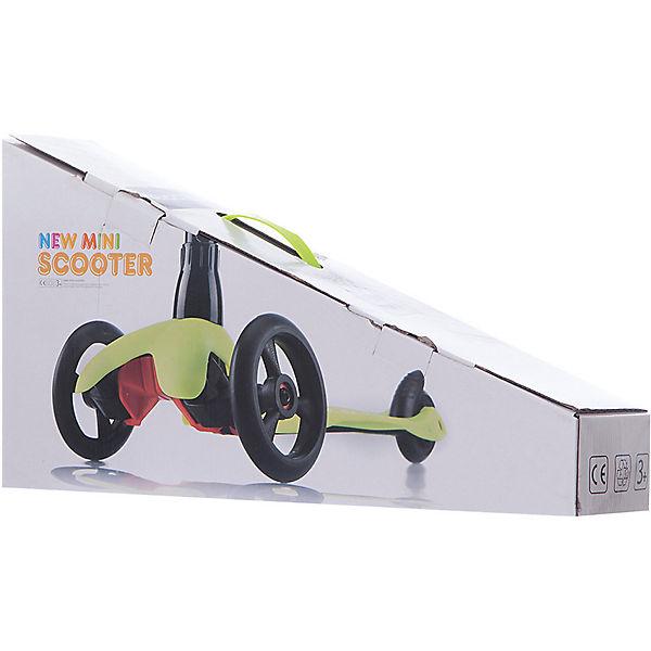 Трехколесный самокат Buggy Boom Mini, салатовый
