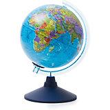 Глобус Земли Globen политический с подсветкой, 210мм
