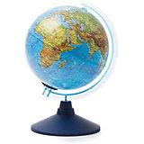 Глобус Земли Globen физический с подсветкой, 210мм