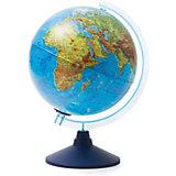 Глобус Земли Globen физический с подсветкой, 250мм