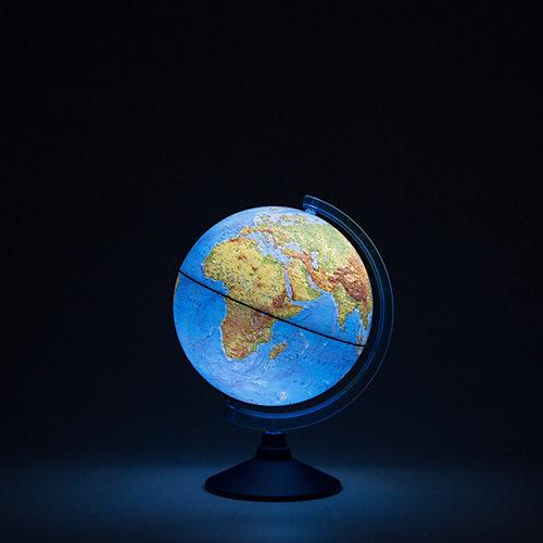 Глобус Земли Globen физический с подсветкой, 250мм от Globen