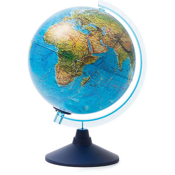 Глобус Земли Globen ландшафтный с подсветкой, 250мм