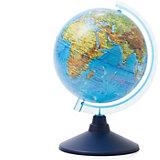 Глобус Земли Globen физический, 150мм