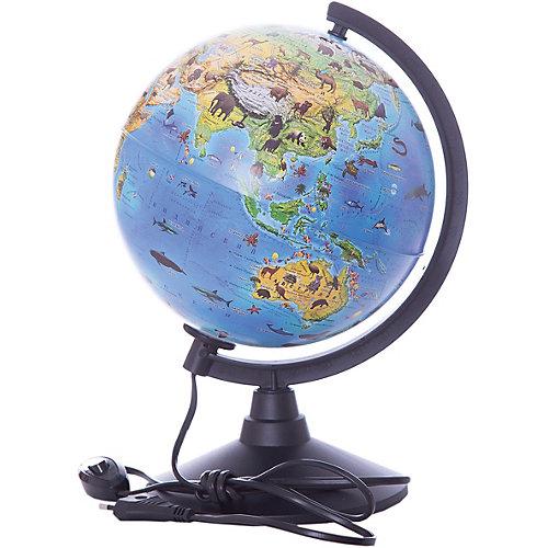 Глобус Globen Зоогеографический (Детский) с подсветкой, 210мм от Globen