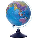 Глобус Земли Globen политический рельефный с подсветкой, 250мм