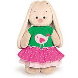 Мягкая игрушка Budi Basa Зайка Ми в толстовке с птичкой, 25 см