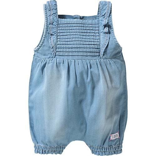 S.Oliver,s.Oliver Baby Jumpsuit mit Volants Gr. 92 Mädchen Kleinkinder | 04055268596136