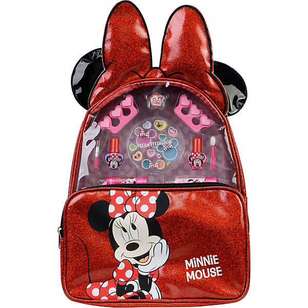 Minnie Rucksack Mit Kosmetik Disney Minnie Mouse Mytoys