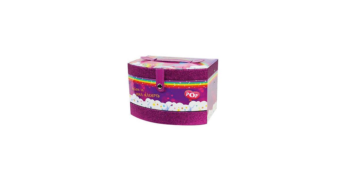POP Kosmetik Schatulle 3-stufig