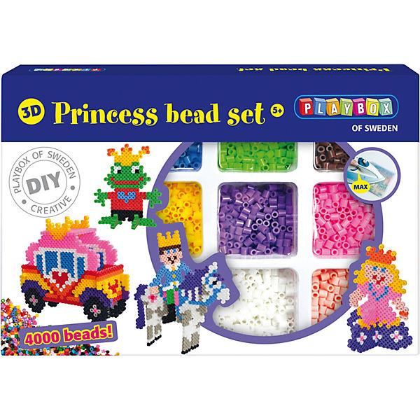 3d Bügelperlen Set Prinzessin 4000 Perlen Playbox Mytoys