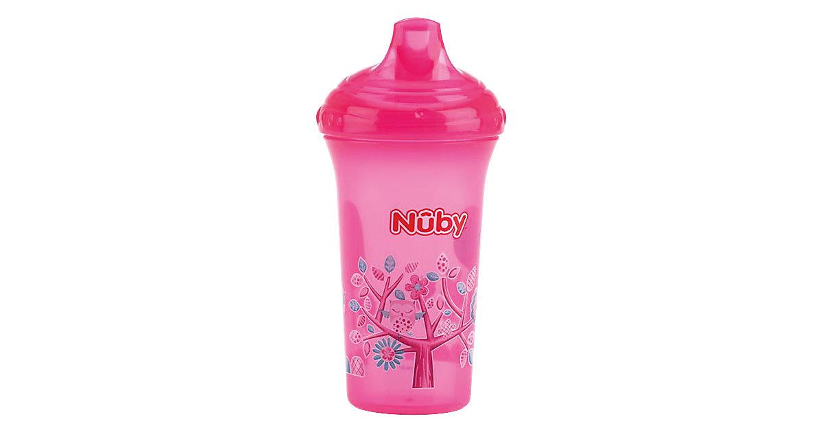 Trinkbecher Color, auslaufsicher, 270ml, pink