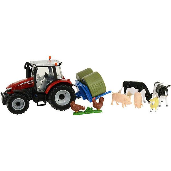 Britains Massey Fergusson Traktor Spielset, Britains