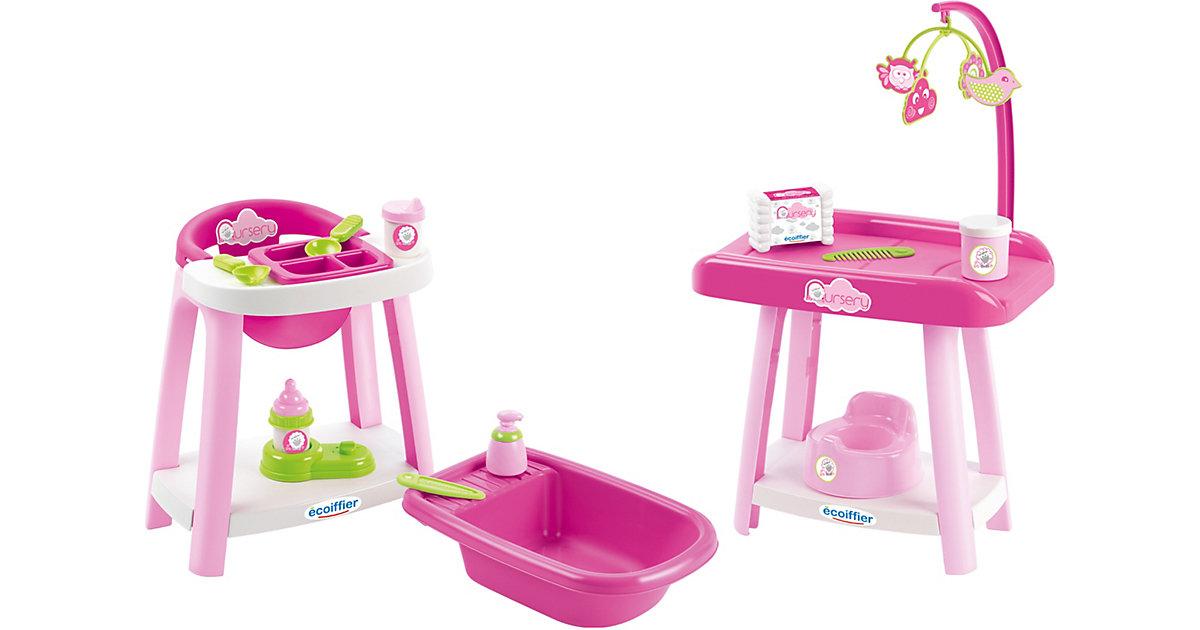 Puppenpflege-Set 3in1 pink