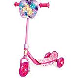 Трехколесный самокат Next Barbie, розовый