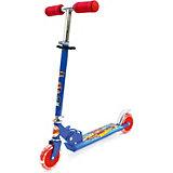 Двухколесный самокат Next Hot wheels, синий