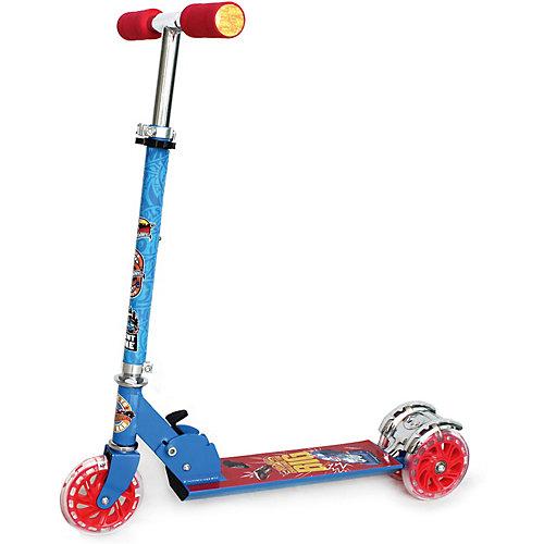 Трехколесный самокат Next Hot wheels, синий от Next