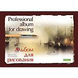"""Альбом для рисования Альт """"Профессиональная"""" на склейке, А4, 20 листов"""