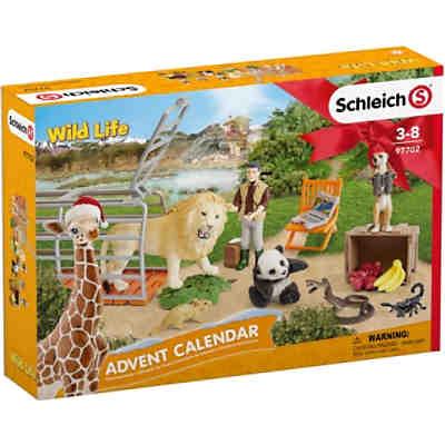 Schleich 97702 Wild Life Adventskalender Wild Life Schleich Mytoys
