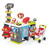 """Игровой набор Smoby """"MAXI Market"""" Супермаркет с тележкой, 50 предметов"""