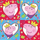 "Салфетки Росмэн ""Свинка Пеппа-принцесса"" 33х33 см., 12  шт."