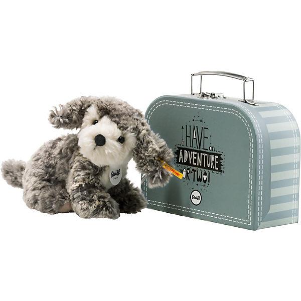 483abb2d0dcb27 Matty Hund im Koffer. Steiff