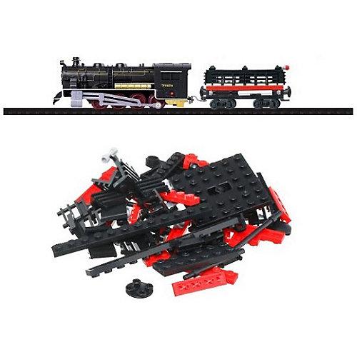 Железная дорога -конструктор с локомотивом Taigen, 120 деталей от Taigen