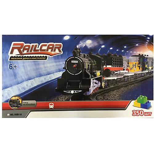 Железная дорога -конструктор с локомотивом Taigen, 350 деталей от Taigen