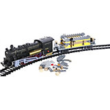 Железная дорога -конструктор с локомотивом Taigen, 120 деталей