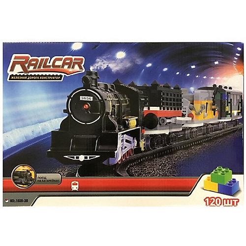 Железная дорога-конструктор Taigen, 120 деталей от Taigen