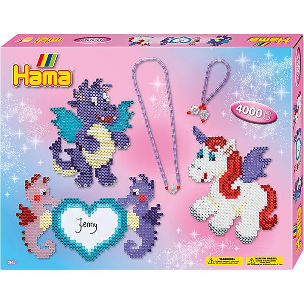 Hama 3148 Geschenkset Anhänger 4000 Midi Perlen Zubehör Hama