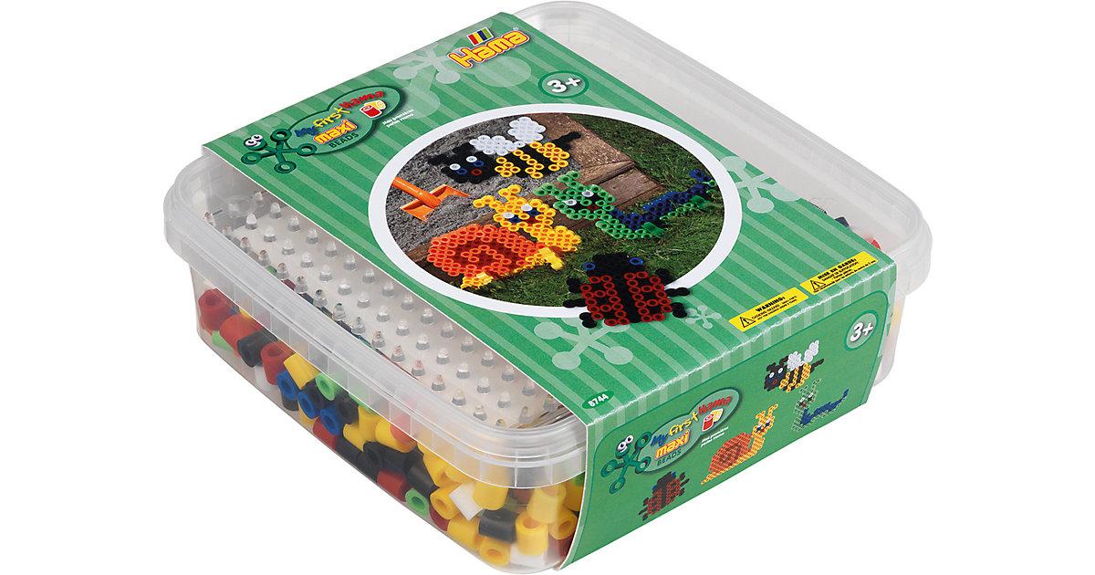 HAMA 8744 Box grün, 600 maxi-Perlen & Zubehör