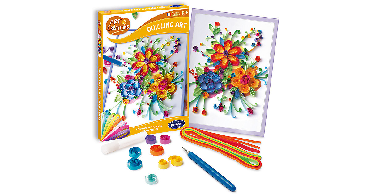 Quilling Art - Blumen