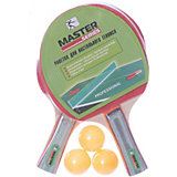 Набор для игры в Пинг-понг Master, 5 предметов, красный