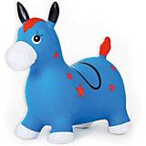 Лошадка надувная-попрыгун Fresh Trend, синяя