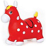 Лошадка надувная-попрыгун Fresh Trend, красная