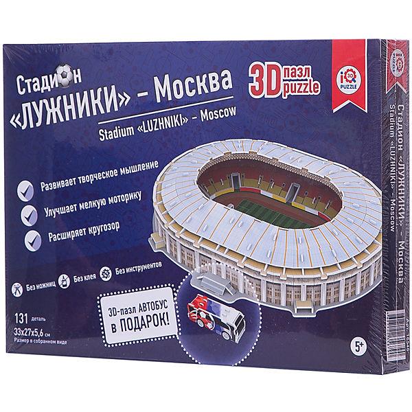 """3D пазл IQ-puzzle """"Москва Лужники"""", 155 элементов"""