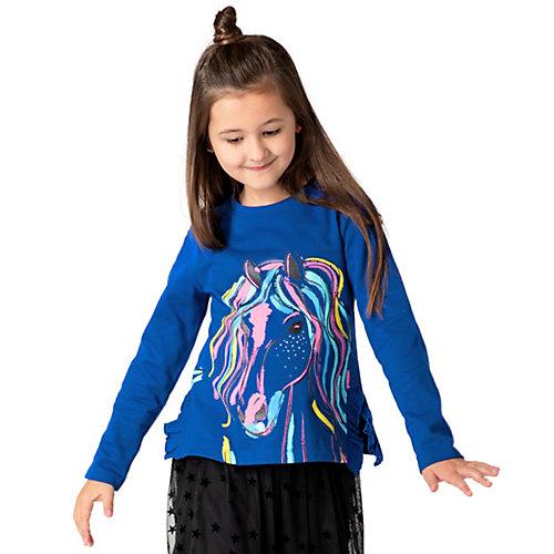Sweatshirt mit Volants von ZAB kids Gr. 140/146 Mädchen Kinder | 04061708229090