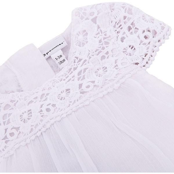 Комплект: Платье, шорты 3pommes для девочки