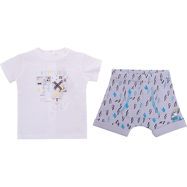 Комплект: футболка, шорты 3 Pommes для мальчика