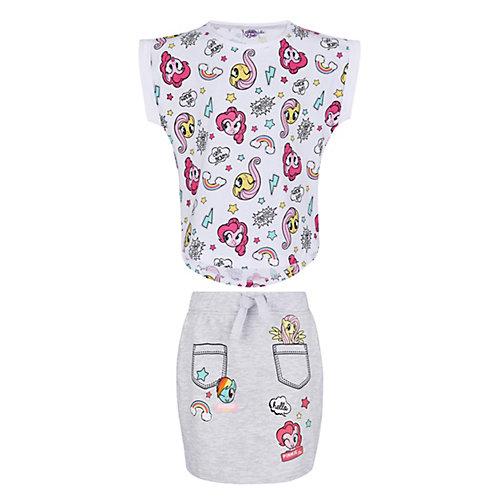 My Little Pony T-Shirt und Rock Gr. 128 Mädchen Kinder   04052384318819