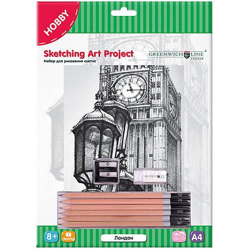 Набор для рисования скетча Greenwich Line «Лондон» от Greenwich Line