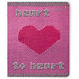 Тетрадь Альт Модный свитер. Сердце 48 листов, 5 шт., клетка