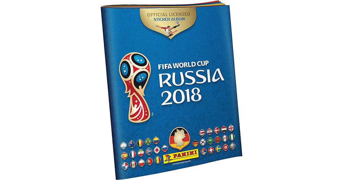 FIFA Fussball-Weltmeisterschaft Russland 2018 Panini Sammelalbum