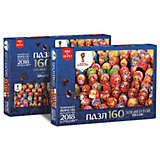 "Пазл Origami FIFA-2018 ""Матрёшки"" Ярмарка матрёшек, 160 элементов"