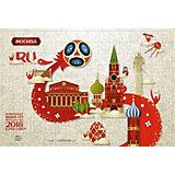 """Пазл Origami FIFA-2018 """"Look"""" Москва, 160 элементов"""